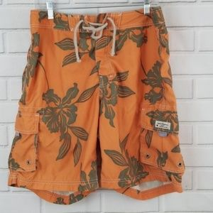 J. Crew Tropical Board Shorts